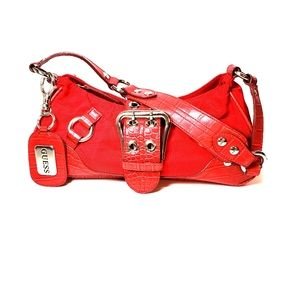 Red Guess Purse.